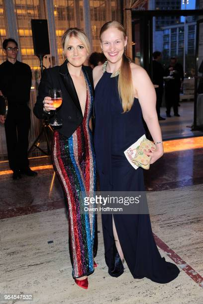 Annaleigh Ashford and Emily Clark attends New York City Ballet 2018 Spring Gala at David H Koch Theater Lincoln Center on May 3 2018 in New York City