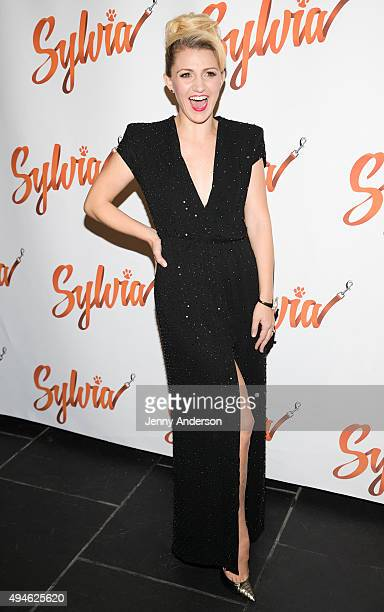 Annaleigh Ashford attends 'Sylvia' opening night after party at Bryant Park Grill on October 27 2015 in New York City