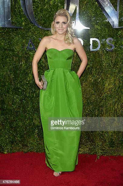 Annaleigh Ashford attends the 2015 Tony Awards at Radio City Music Hall on June 7 2015 in New York City