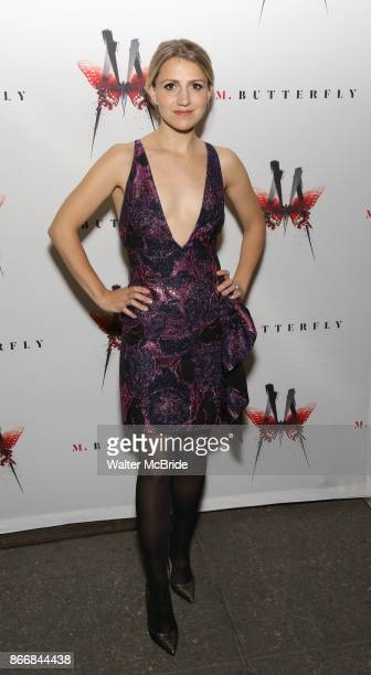 Annaleigh Ashford attends the Broadway Opening Night performance of 'M Butterfly' on October 26 2017 at Cort Theater in New York City