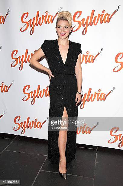 Annaleigh Ashford attends the 'Sylvia' opening night after party at Bryant Park Grill on October 27 2015 in New York City