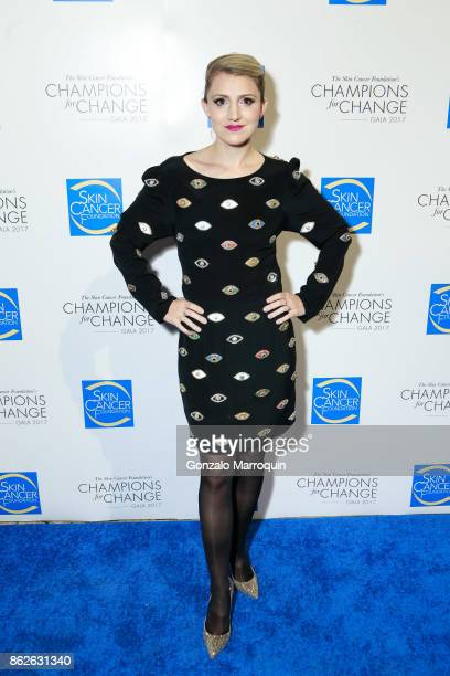 Annaleigh Ashford during the Skin Cancer Foundation's Champions for Change Gala at Cipriani 25 Broadway on October 17 2017 in New York City