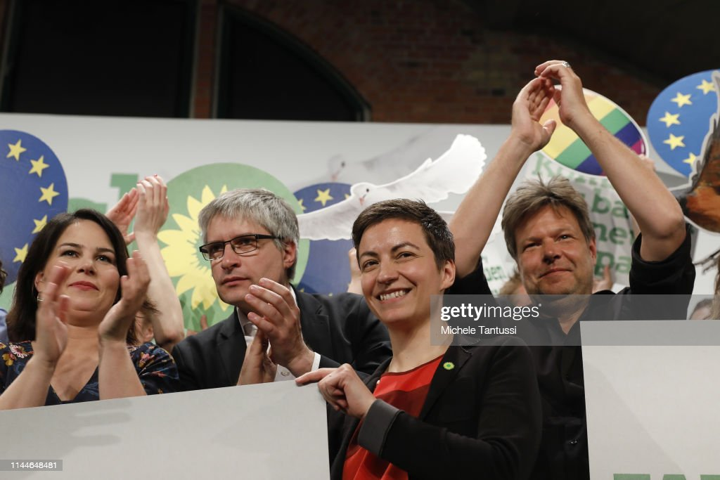 Greens Party Holds Congress Ahead Of European Elections : Photo d'actualité