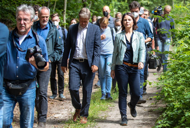 DEU: Annalena Baerbock Campaigns In And Around Berlin
