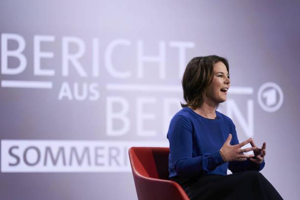 DEU: Annalena Baerbock In ARD Summer Interview