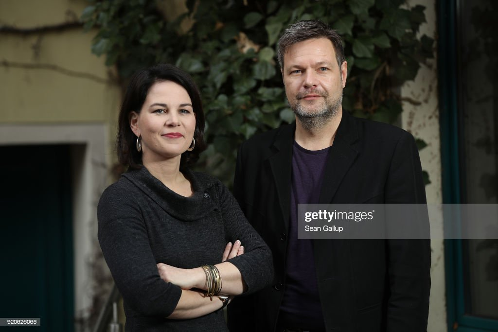 Greens Party New Leaders Robert Habeck And Annalene Baerbock