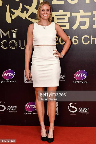 AnnaLena Groenefeld of Germany arrives at the 2016 China Open Player Party at The Birds Nest on October 3 2016 in Beijing China