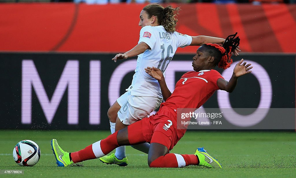 Canada v New Zealand: Group A - FIFA Women's World Cup 2015 : News Photo