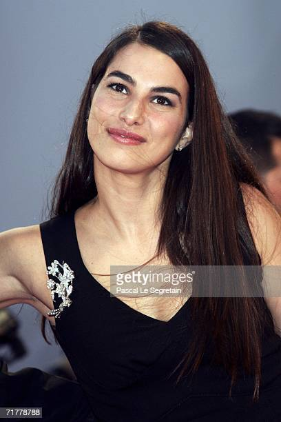 Annalisa Bugliani wife of director Alfonso Cuaron attends the premiere of the film 'Children Of Men' during the fifth day of the 63rd Venice Film...