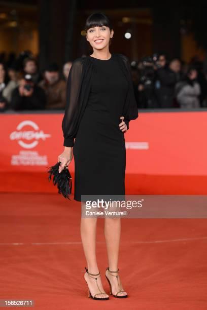 Annalisa De Simone attends the 'The Motel Life' Premiere during the 7th Rome Film Festival at Auditorium Parco Della Musica on November 16, 2012 in...