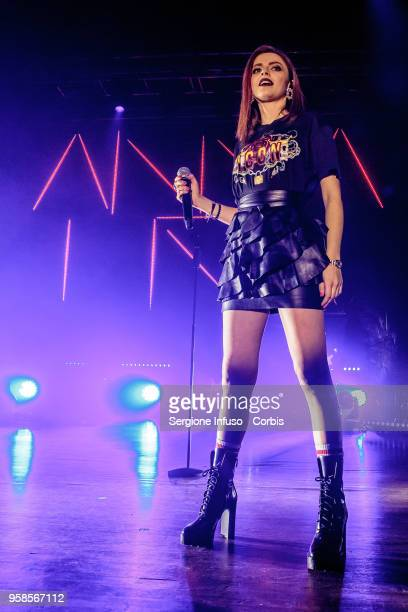 Annalisa performs on stage at Alcatraz on May 14 2018 in Milan Italy