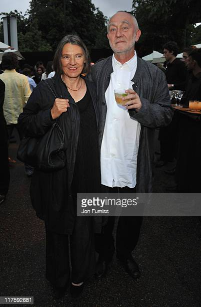 Annalisa Zumthor Cuorad and Peter Zumthor attends The Serpentine Gallery Summer Party on June 28 2011 in London England