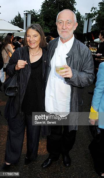 Annalisa ZumthorCuorad and Peter Zumthor attend the Burberry Serpentine Summer Party at The Serpentine Gallery on June 28 2011 in London England