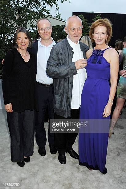 Annalisa ZumthorCuorad HansUlrich Obrist Peter Zumthor and Julia PeytonJones attend the Burberry Serpentine Summer Party at The Serpentine Gallery on...