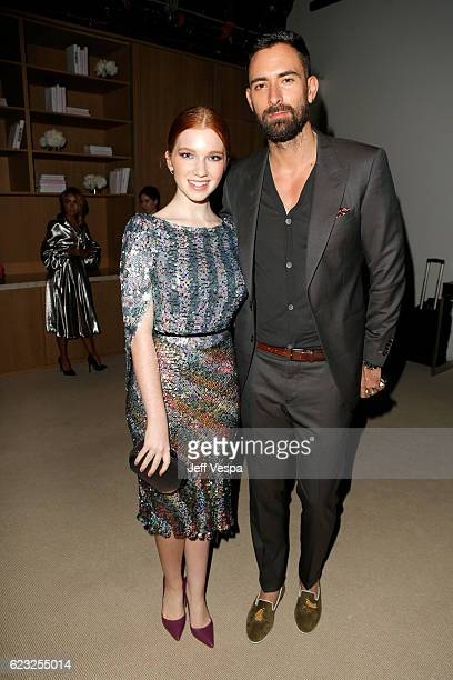 Annalise Basso and guest attend Glamour Women Of The Year 2016 at NeueHouse Hollywood on November 14 2016 in Los Angeles California