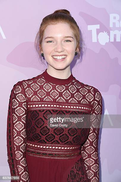 Annalise Basso arrives at Variety's Celebratory Brunch Event For Awards Nominees Benefiting Motion Picture Television Fund at Cecconi's on January 28...