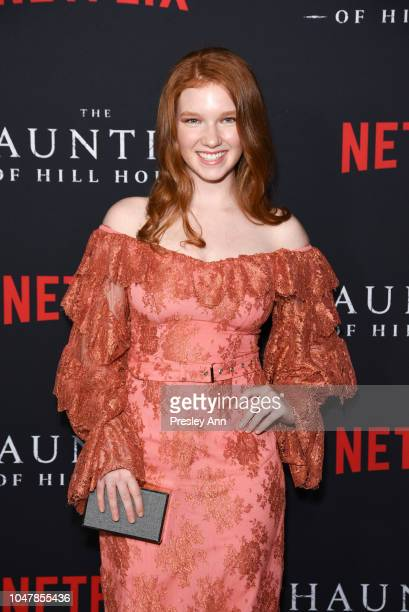 Annalise Basso attends Netflix's 'The Haunting Of Hill House' Season 1 Premiere Arrivals at ArcLight Hollywood on October 8 2018 in Hollywood...