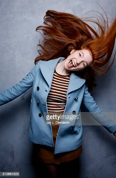 Annalise Basso of 'Captain Fantastic' poses for a portrait at the 2016 Sundance Film Festival on January 23 2016 in Park City Utah CREDIT MUST READ...