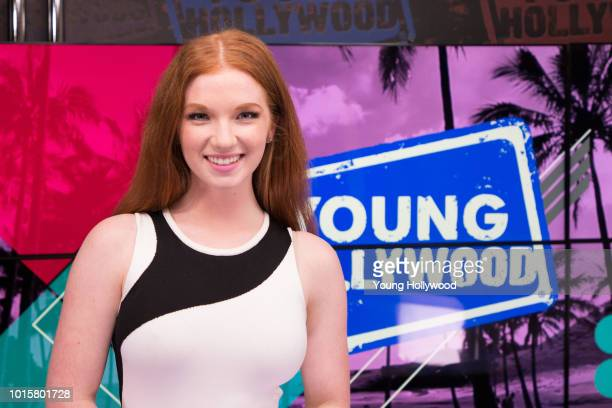 Annalise Basso visits the Young Hollywood Studio on August 8 2018 in Los Angeles California