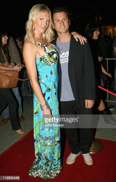Annalise Braakensiek and guest during Fantastic Four Rise of the Silver Surfer Media Call May 2 2007 at Fox Studios in Sydney NSW Australia