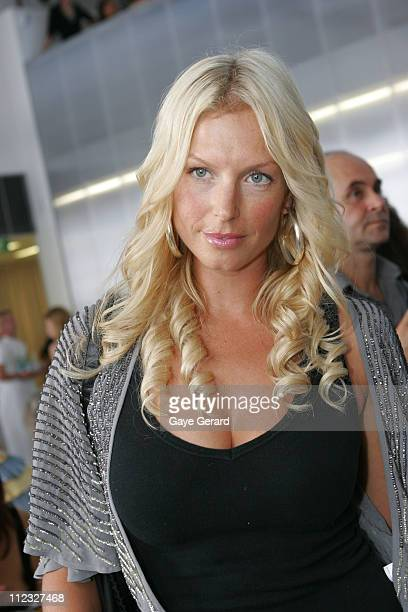 Annalise Braakensiek during Alex Perry Fashion Show April 19 2006 at Studio Twenty4 in Sydney NSW Australia
