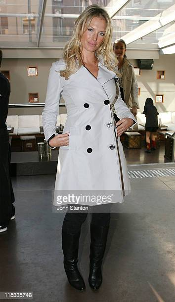 Annalise Braakensiek during Oscar Elvis S/S 07/08 Collection Showings at Favela in Sydney NSW Australia