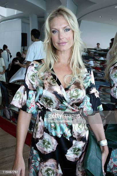 Annalise Braakensiek during Winter 2007 Fashion at Myer at The Restaurant The Domain in Sydney NSW Australia