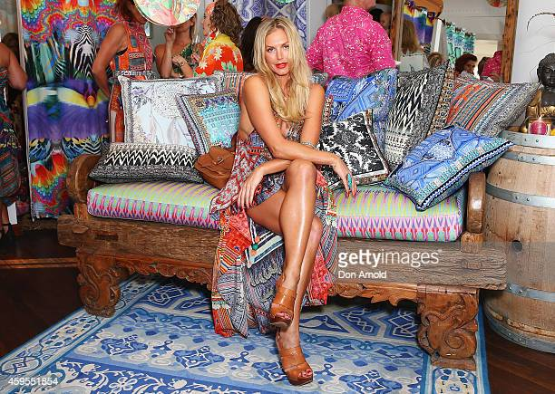 Annalise Braakensiek poses at The CAMILLA Beach House on November 25 2014 in Sydney Australia
