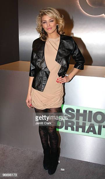 AnnaLynn McCord attends the QVC Style Party to Kick Off MercedesBenz Fashion Week in Bryant Park on February 13 2010 in New York City