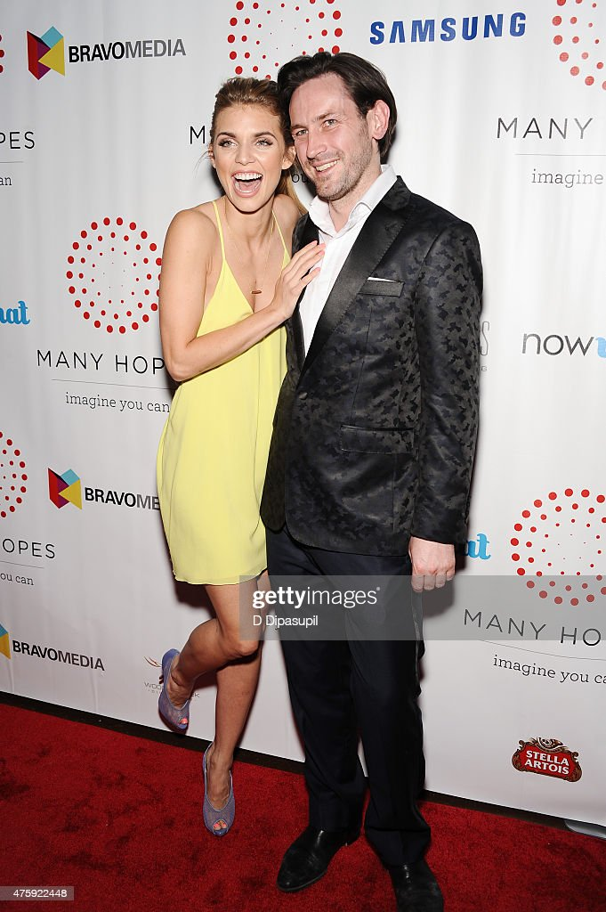 AnnaLynne McCord (L) and Many Hopes founder Thomas Keown attend the 4th Annual Discover Many Hopes Gala at The Angel Orensanz Foundation on June 4, 2015 in New York City.