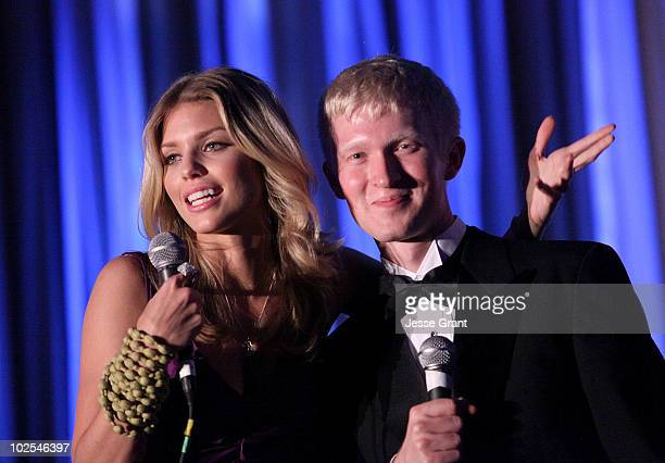 AnnaLynne McCord and Seth Maxwell attend The Inaugural Thirst Gala held at Casa Del Mar on June 29 2010 in Santa Monica California