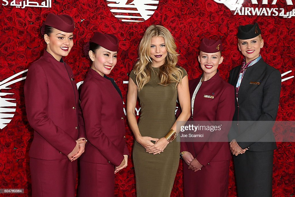Annalynne McCord arrives at Qatar Airways Los Angeles Gala at Dolby Theatre on January 12, 2016 in Hollywood, California.