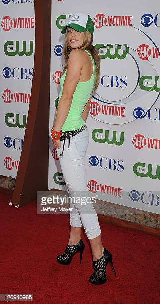 AnnaLynne McCord arrives at the TCA Party for CBS The CW and Showtime held at The Pagoda on August 3 2011 in Beverly Hills California