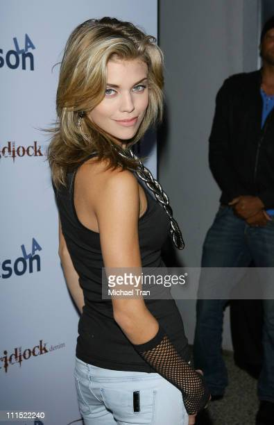 AnnaLynne McCord arrives to the Gridlock Denim launch party held at Kitson on Roberston on June 11 2009 in Beverly Hills California