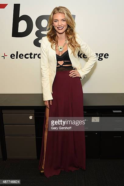 AnnaLynne McCord attends Annual Charity Day hosted by Cantor Fitzgerald and BGC at BGC Partners INC on September 11 2015 in New York City