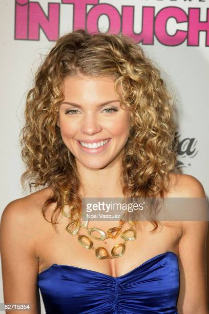 AnnaLynne McCord attends InTouch Weekly's ICONSIDOLS PostVMA Celebration at Chateau Marmont on September 7 2008 in Los Angeles California
