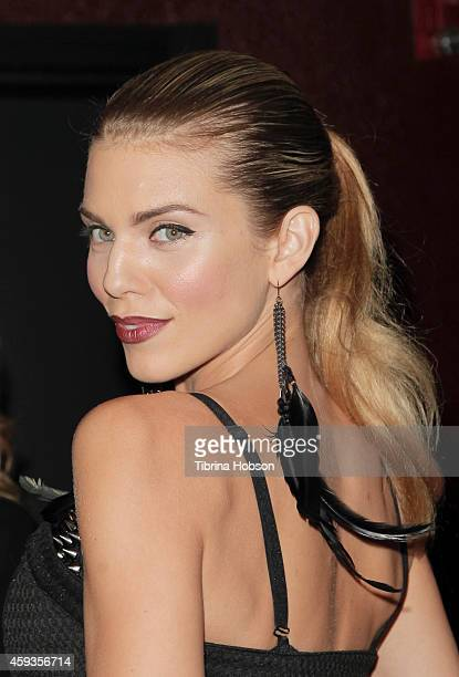 AnnaLynne McCord attends Just Jared's homecoming dance at El Rey Theatre on November 20 2014 in Los Angeles California