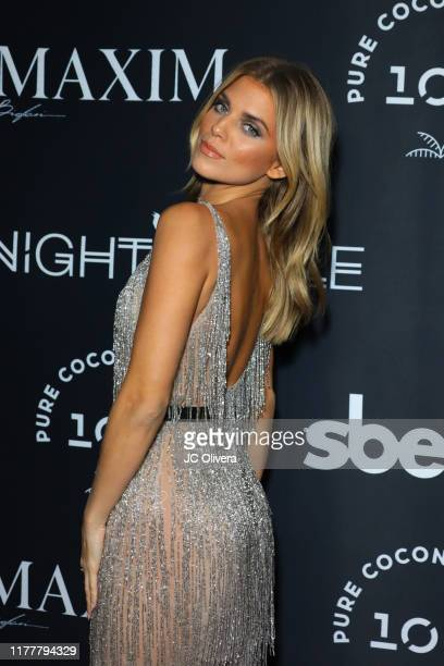 AnnaLynne McCord attends MAXIM celebrates official release of their Sept./Oct. Issue hosted by cover model Vita Sidorkina at Nightingale on September...