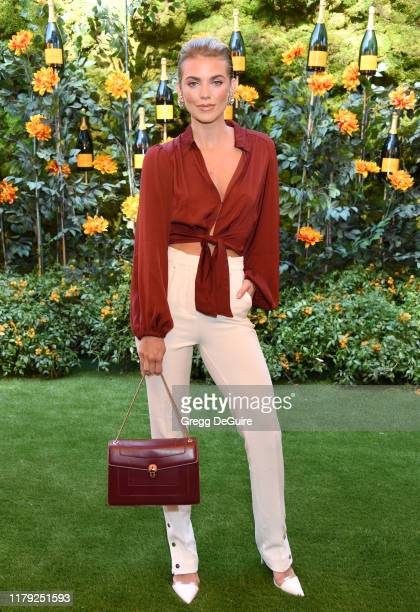 Annalynne Mccord attends the 10th Annual Veuve Clicquot Polo Classic Los Angeles at Will Rogers State Historic Park on October 05 2019 in Pacific...