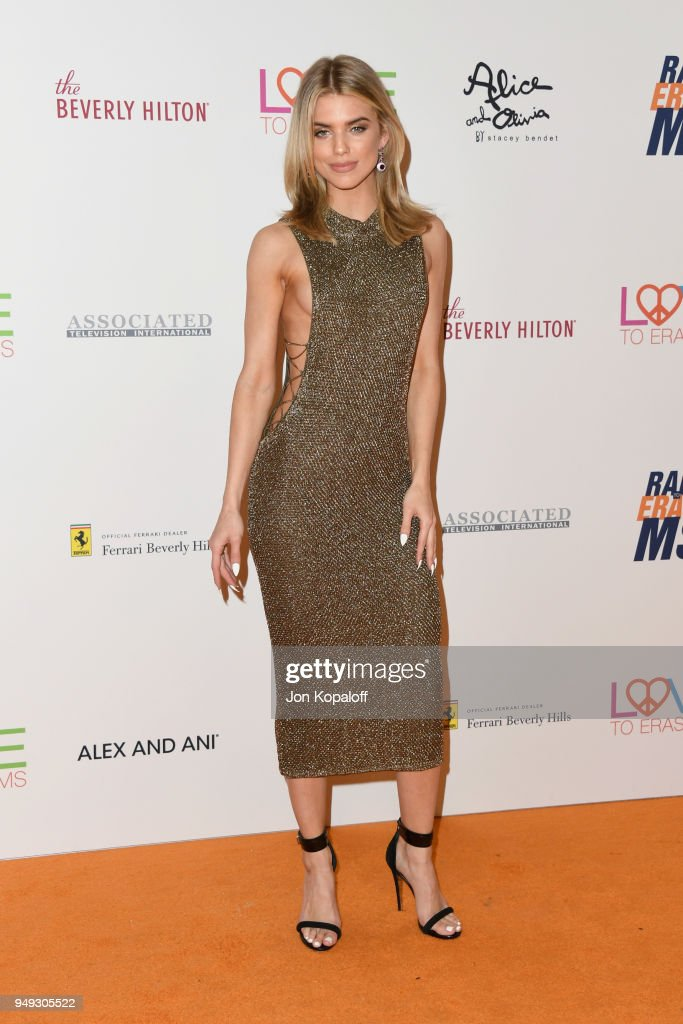 AnnaLynne McCord attends the 25th Annual Race To Erase MS Gala at The Beverly Hilton Hotel on April 20, 2018 in Beverly Hills, California.