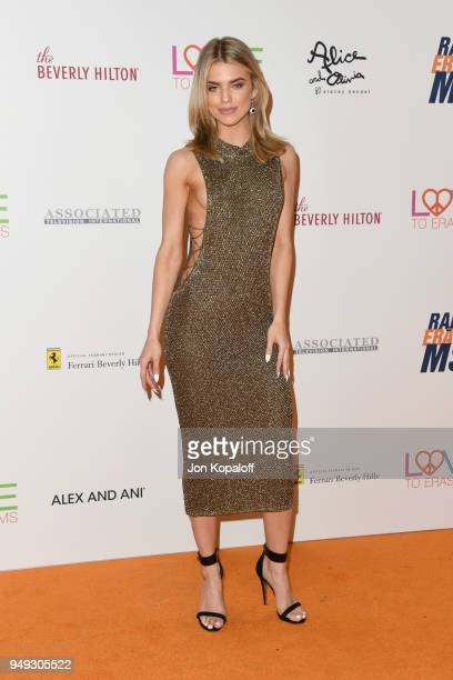 AnnaLynne McCord attends the 25th Annual Race To Erase MS Gala at The Beverly Hilton Hotel on April 20 2018 in Beverly Hills California