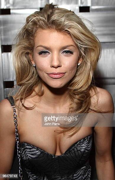 AnnaLynne McCord attends The 2nd Annual 'Big Game Big Give' on February 6 2010 in Miami Beach Florida