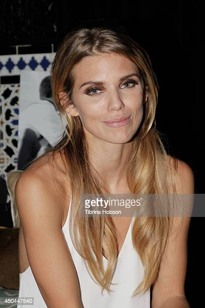 AnnaLynne McCord attends the after party for the screening of her new film 'I Choose' at Harmony Gold Theatre on June 10 2014 in Los Angeles...