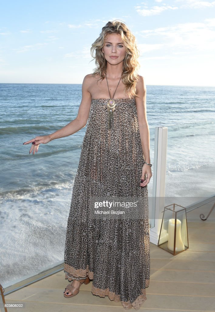 AnnaLynne McCord attends 'The Awakening Sea' Launch Party By Rowena Patterson on July 27, 2017 in Malibu, California.