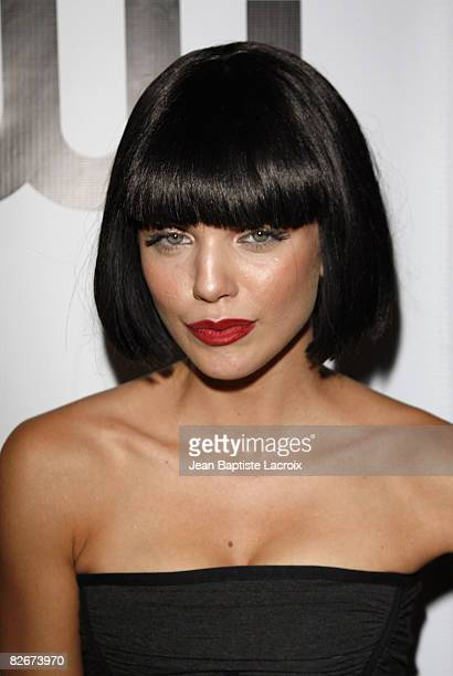 AnnaLynne McCord attends the CW Network's 90210 Premiere Party>> on August 23, 2008 in Malibu, California.