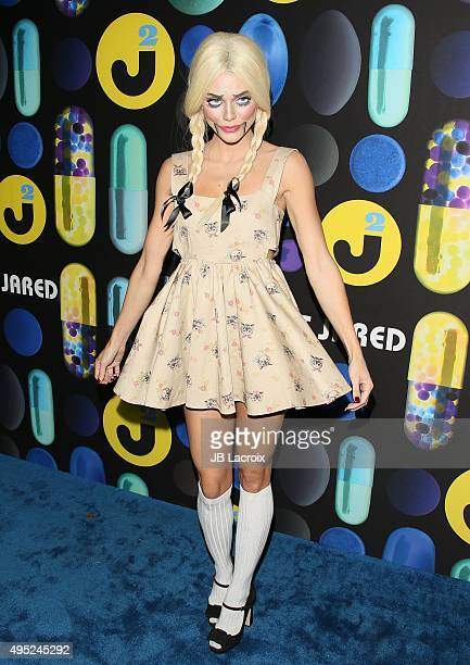 AnnaLynne McCord attends the Just Jared Halloween party at No Vacancy on October 31 2015 in Hollywood California