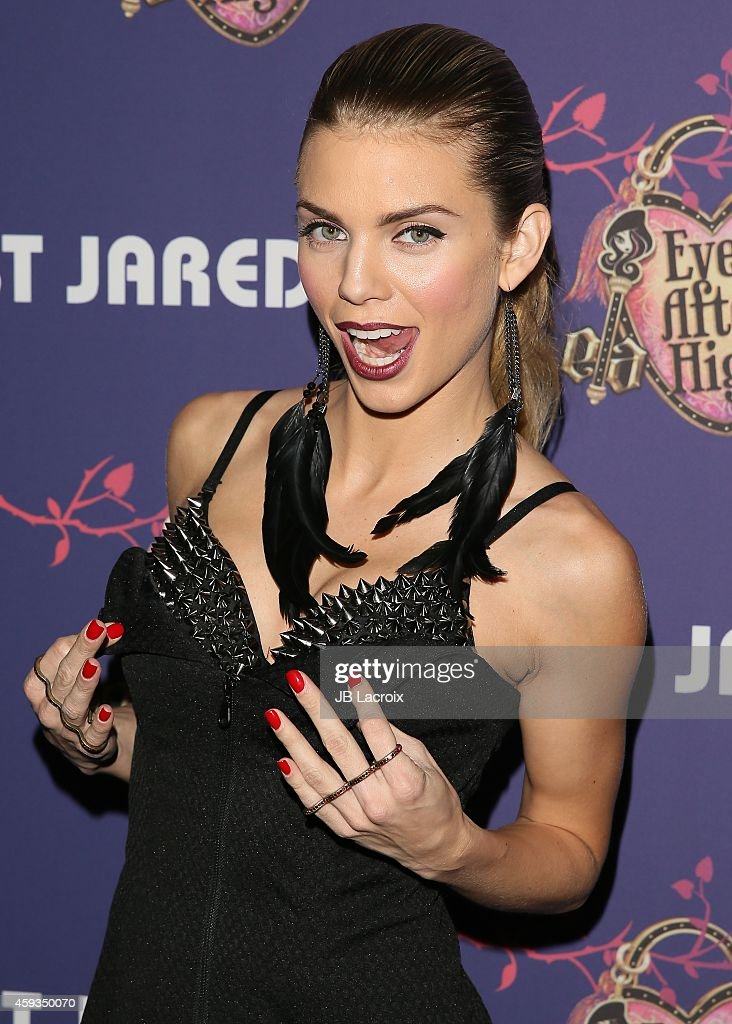 AnnaLynne McCord attends the Just Jared's Homecoming Dance at the El Rey Theater on November 20, 2014 in Los Angeles, California.
