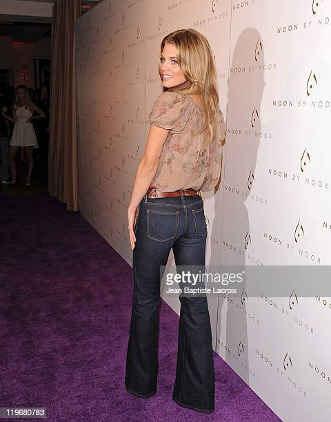 AnnaLynne McCord attends the Noon by Noor launch party at Sunset Tower on July 20 2011 in West Hollywood California