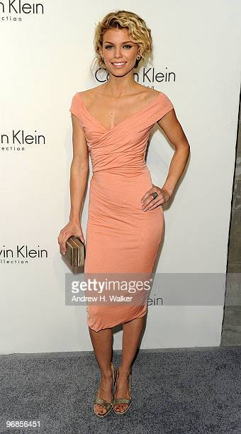 AnnaLynne McCord attends the Women's Fall 2010 Calvin Klein Collection after party on February 18 2010 in New York City