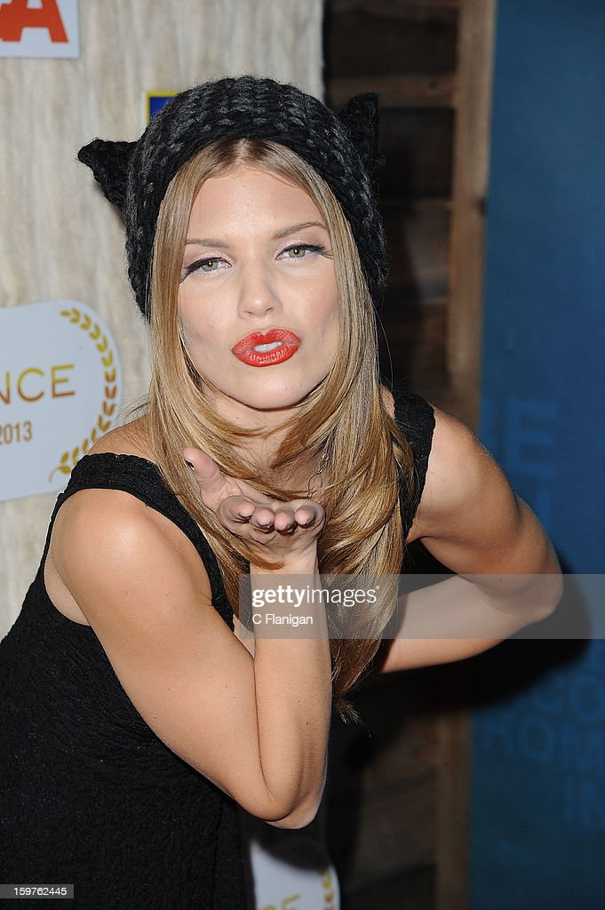 AnnaLynne McCord hosts the Catdance Film Festival during the 2013 Sundance Film Festival on January 19, 2013 in Park City, Utah